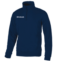 Half Zip Navy Jumper - Lewes College