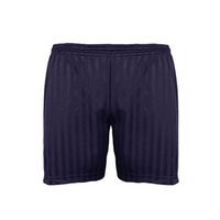Shadow Stripe Football Shorts - Black
