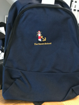 Haven school navy small backpack