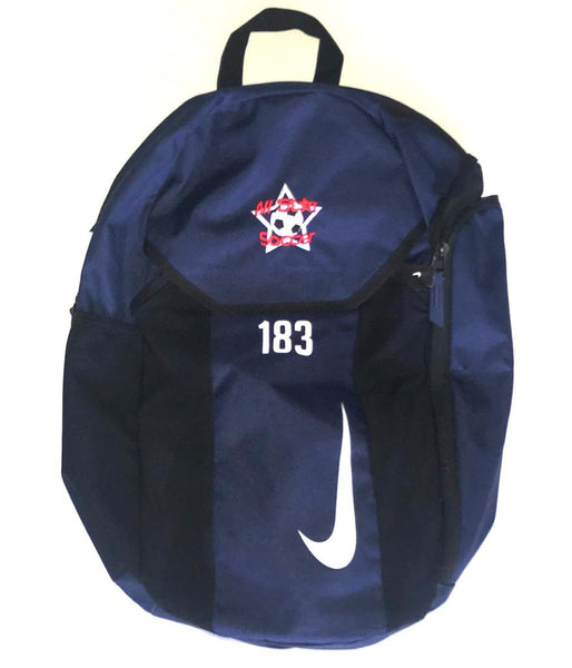 All Star Soccer Academy Back Pack