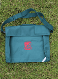 Book Bag with Strap - Bottle Green