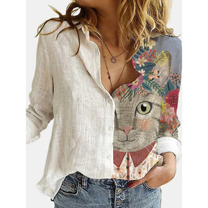Blusa estampada Big cat Mod.9
