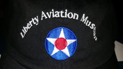 Liberty Aviation Museum Black Roundel Hat