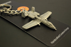 A-10 Pewter Keychain