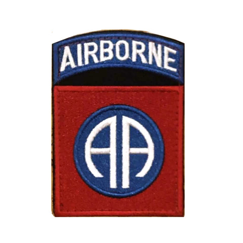 Airborne Shield Velcro Patch
