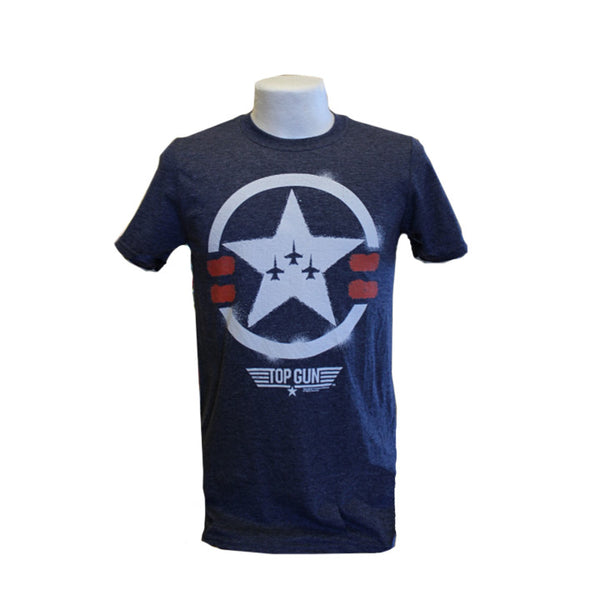 Top Gun T-Shirt - Light Navy
