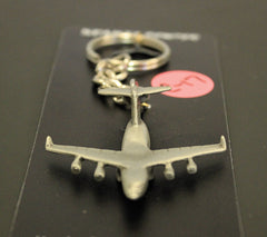 C17 Airplane Pewter Keychain