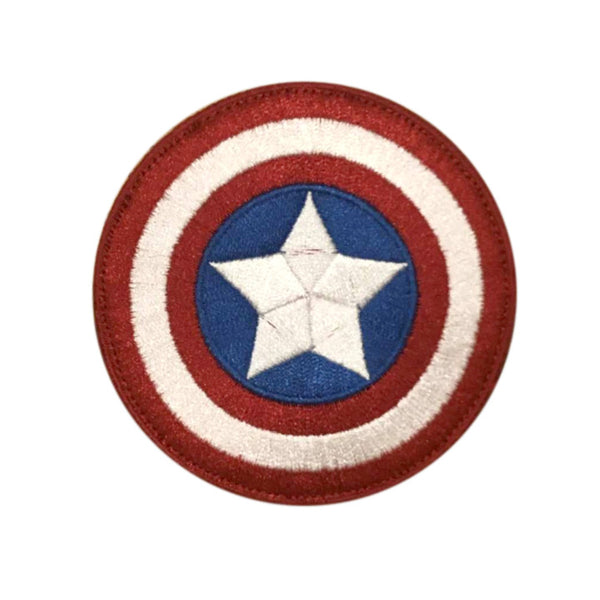 Captain America Shield Velcro Patch