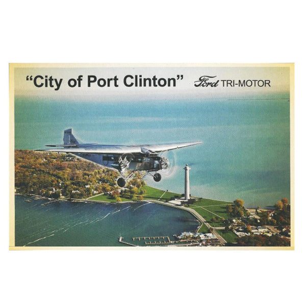 """City of Port Clinton""/""City of Wichita"" 1928 Ford Tri-Motor"