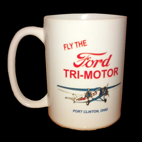 Fly the Ford Tri-Motor Ceramic Mug