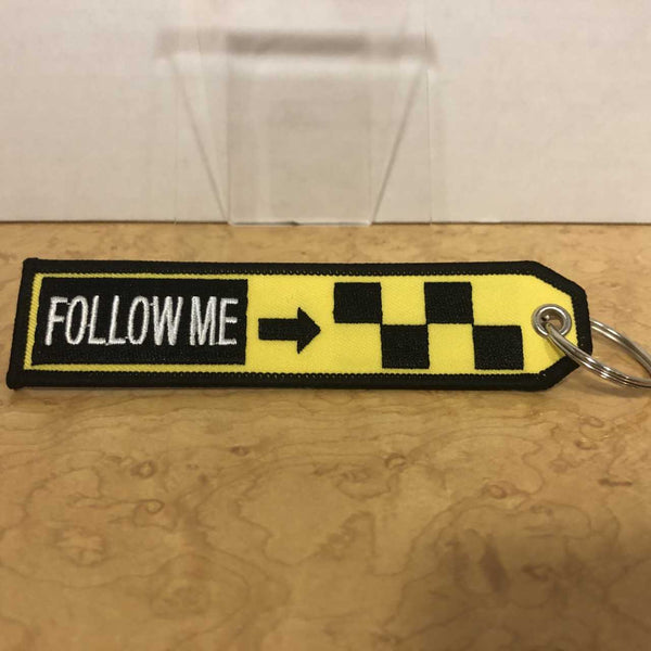 Follow Me  keychain