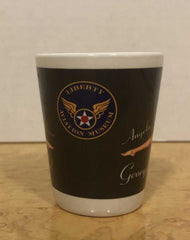 "B-25 ""Georgie's Gal"" Shot glass"