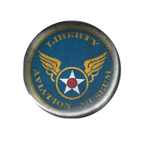Liberty Aviation Museum button pin