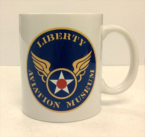 Liberty Aviation Museum Logo Mug