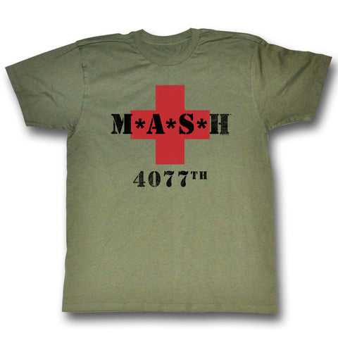Mash 4077th Olive Drab T-shirt