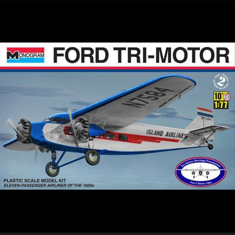 Monogram Ford Tri-Motor Model - Island Airlines Markings