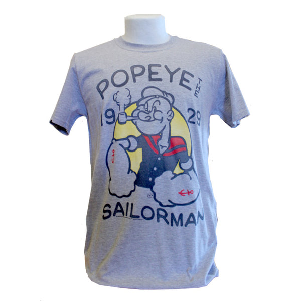 Popeye T-Shirt - Light Grey