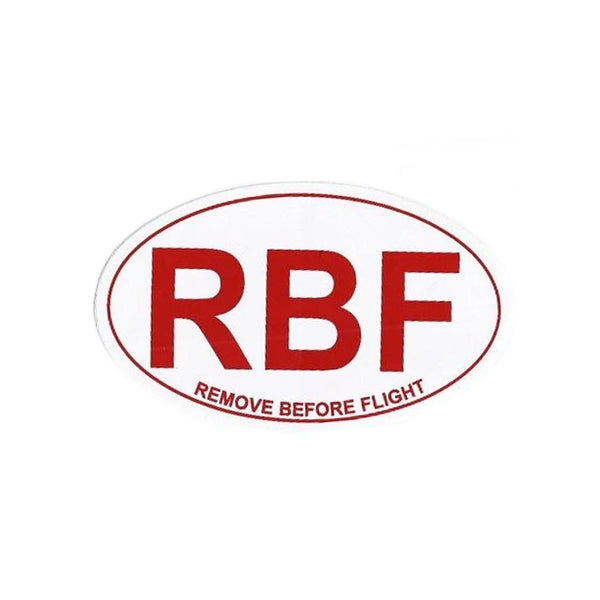 RBF Remove Before Flight Sticker
