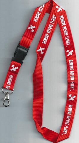 RBF Remove Before Flight lanyard