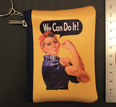 "Rosie The Riveter ""We Can Do It""  Coin Purse"
