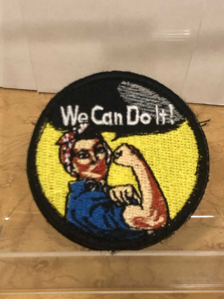 "Rosie The Riveter ""We Can Do It""  Velcro Patch"