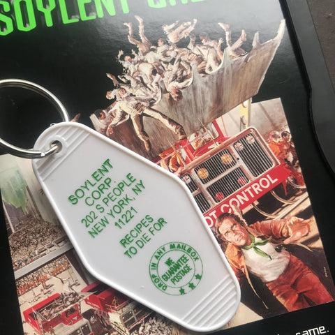 Soylent Green Motel Key FOB
