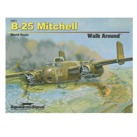 B-25 Mitchell Walk Around by Squadron