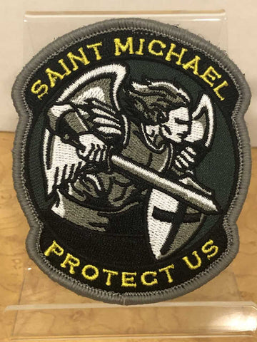Saint Michael    Velcro Patch