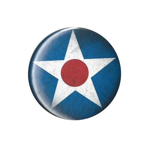Army Air Corps Star Button Pin