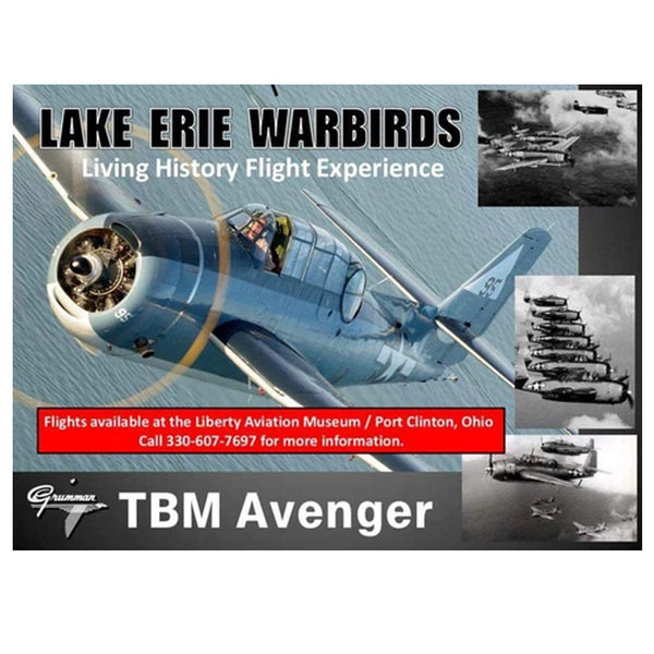 WWII TBM Avenger Living History Flight Gift Certificate Ticket