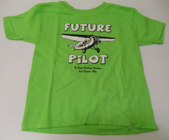 """Future Pilot"" Kids Bright colored T-shirts"