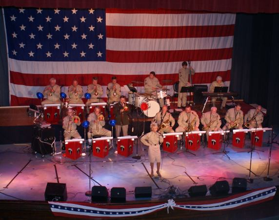 New Year's Eve 1940's WWII era Big Band Hangar Dinner & Dance Admission Tickets
