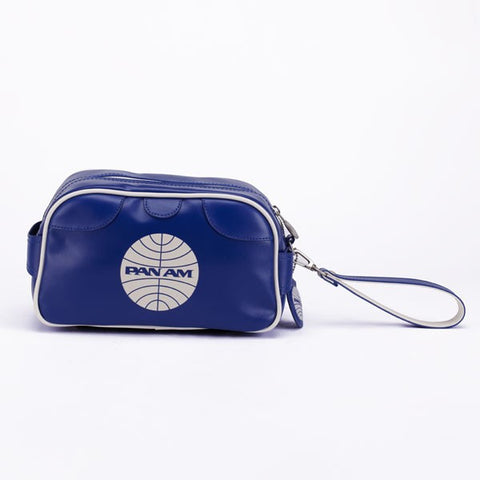 Pan Am Tolietry Wash Bag Medium Blue