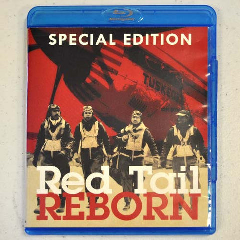 """Red Tail Reborn"" Blu-Ray Video (Autographed)"