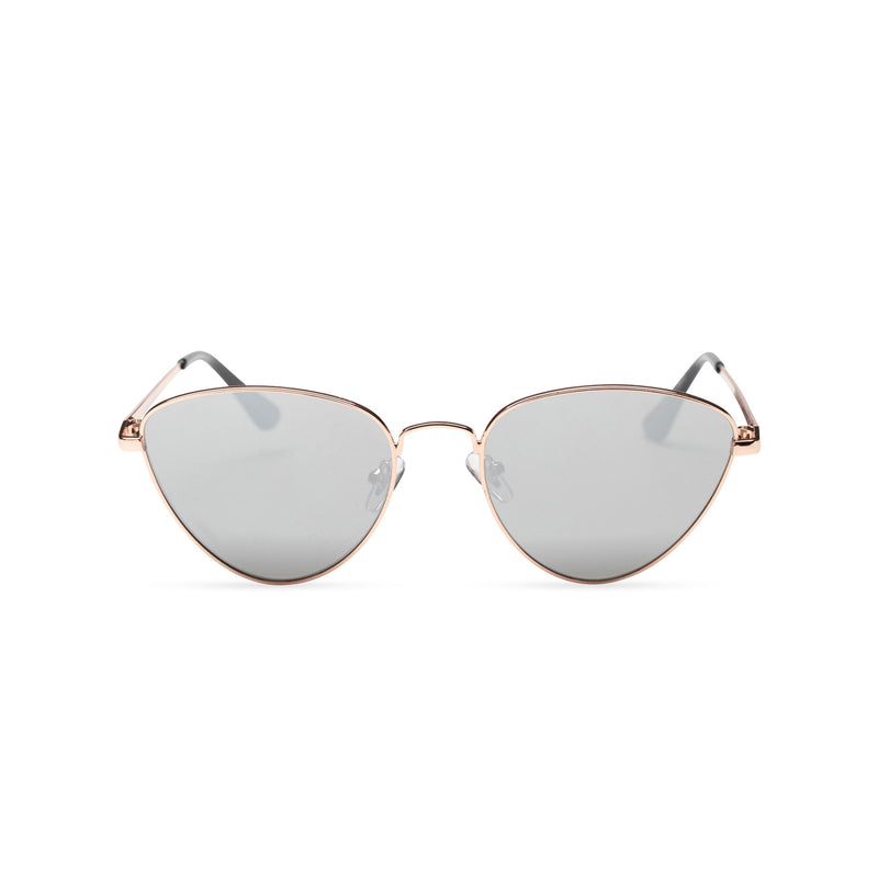 gold grey metal triangle sunglasses wolf teashade round John Lennon