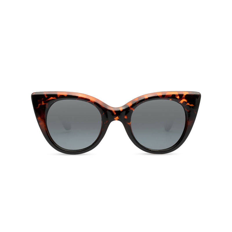 Big cat eye sunglasses model GATO plastic Tortoiseshell frame retro