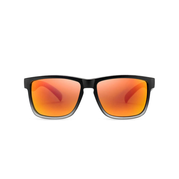 Fire orange lens and plastic frame shades OBEY by SOLFUL Ibiza sunglasses
