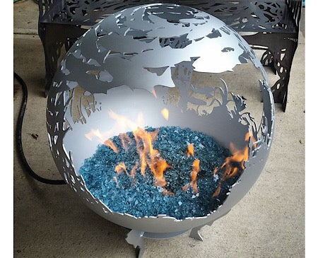 Gas Fire Spheres