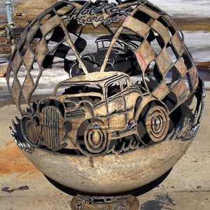 Hot Rod Wood Burning Fireball