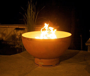 Crater Gas Fire Pit