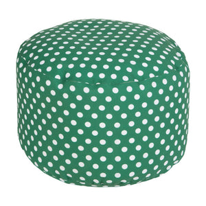 Polka Dot Outdoor Pouf | Surya SKU POUF-291