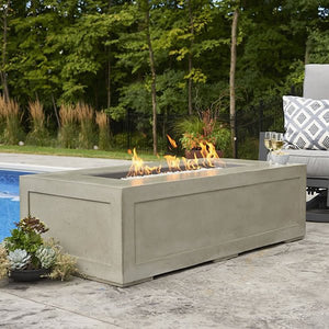 The Outdoor GreatRoom Company Cove Linear Pit Table  Model CV-1242