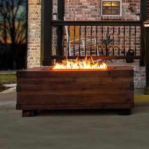 12th South Trunk Sound Reactive Fire Pit | Music City Fire Company