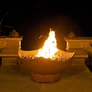 Manta Ray Gas Fire Pit