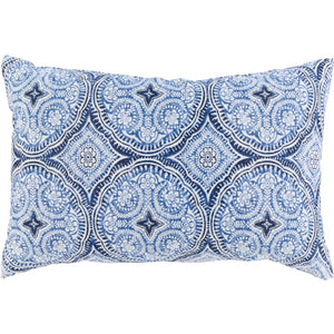 Pippa Outdoor Lumbar Throw Pillow | Surya