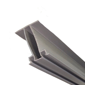 Zip-Up UnderDeck® Main Rail--Gray