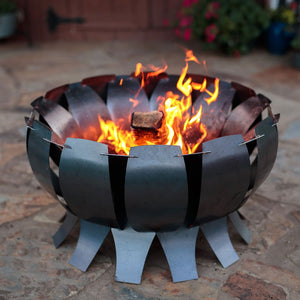 Tanami Hot Rolled Steel Fire Pit by Desert Steel