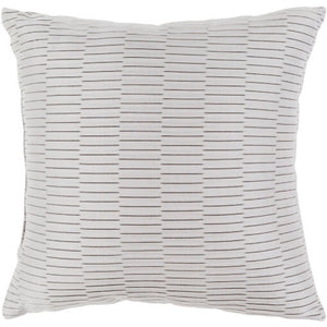 Caplin Outdoor Throw Pillow - Light Gray | Surya CP-007