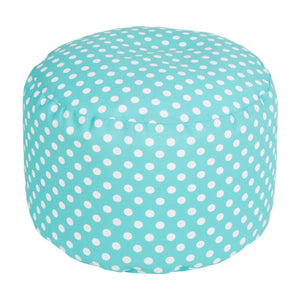 Polka Dot Outdoor Pouf | Surya SKU POUF-293