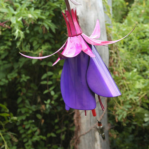 Fuchsia Hummingbird Bird Feeder